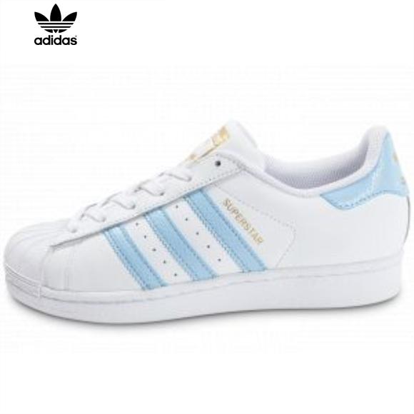 adidas superstar femme bleu ciel