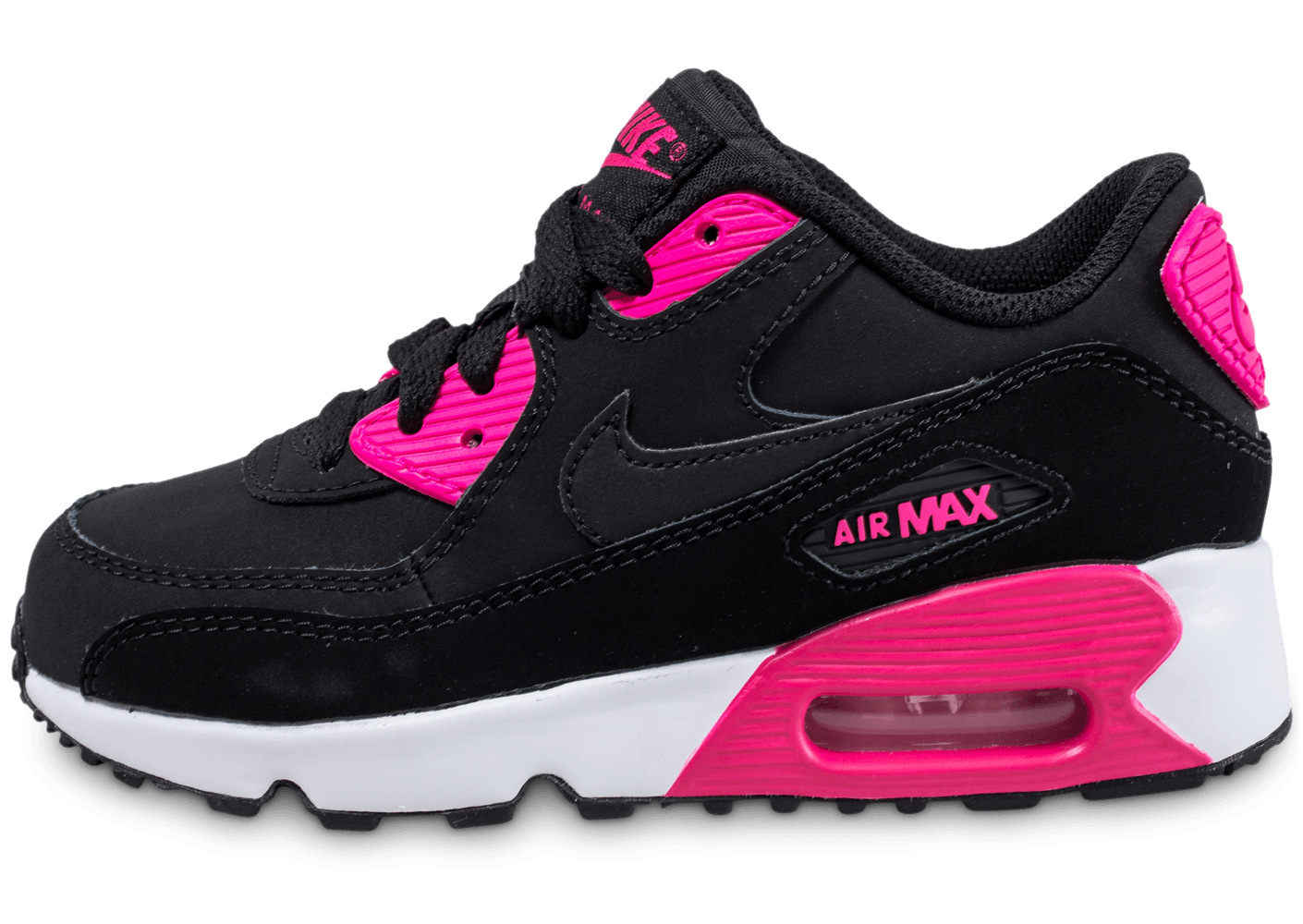 air max noir rose