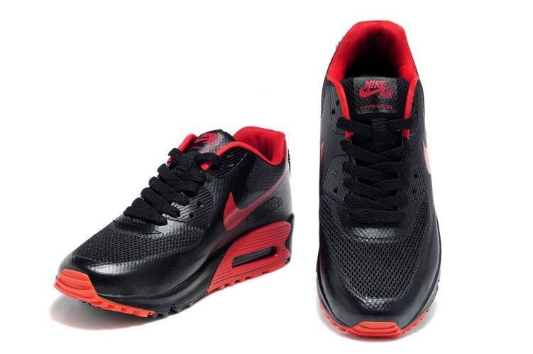 air max femme rouge et noir